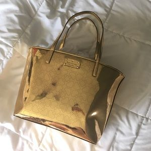 ♠️ Kate spade ♠️ small harmony gold tote NWT $178